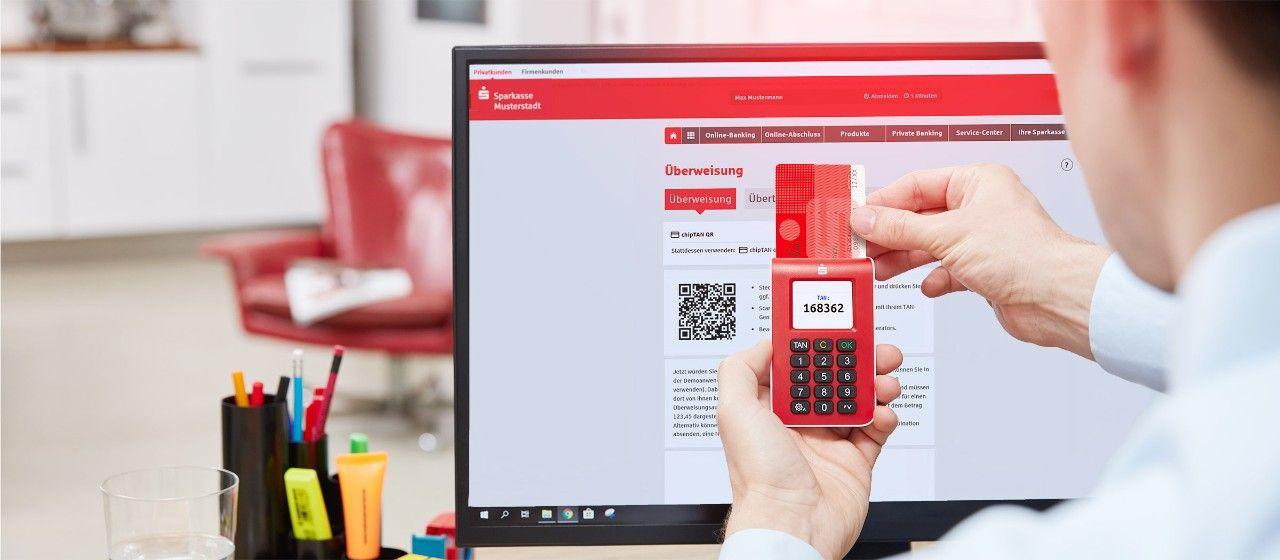 Online Banking Mit Chiptan Bequem Nutzen Muritz Sparkasse