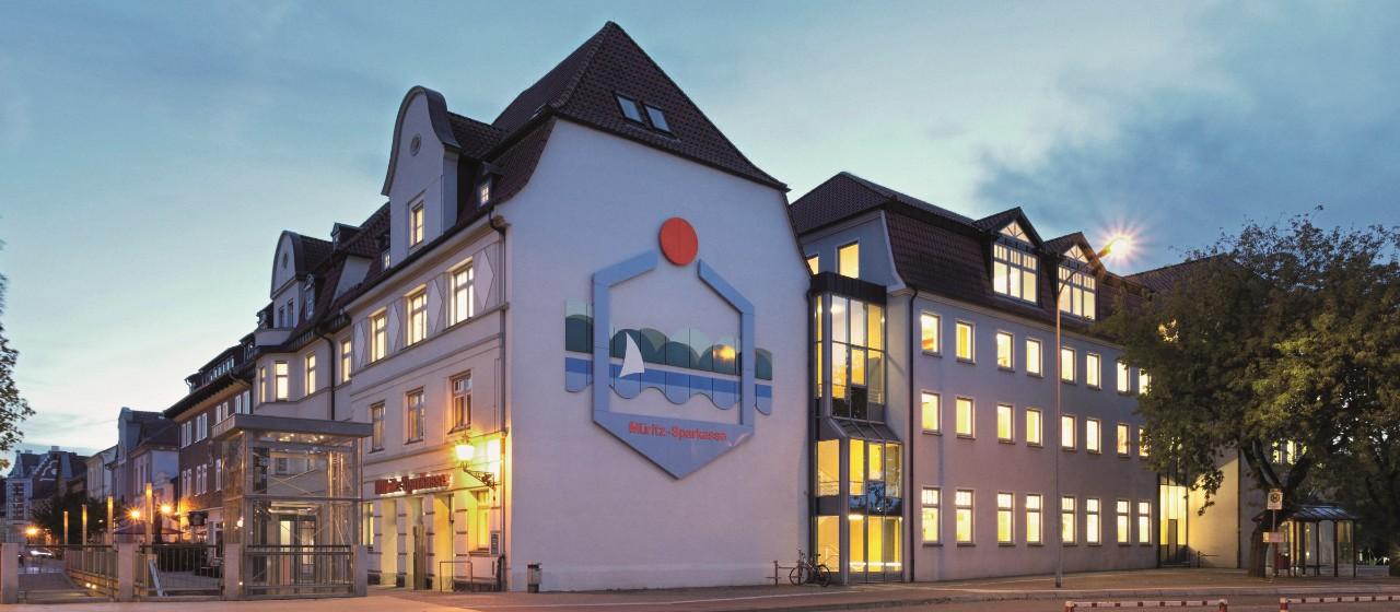 Hauptstelle der Müritz-Sparkasse
